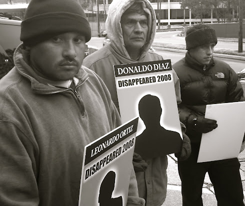 El Congreso de Jornaleros / Congress of Day Laborers Protest Vigil for Missing Immigrants