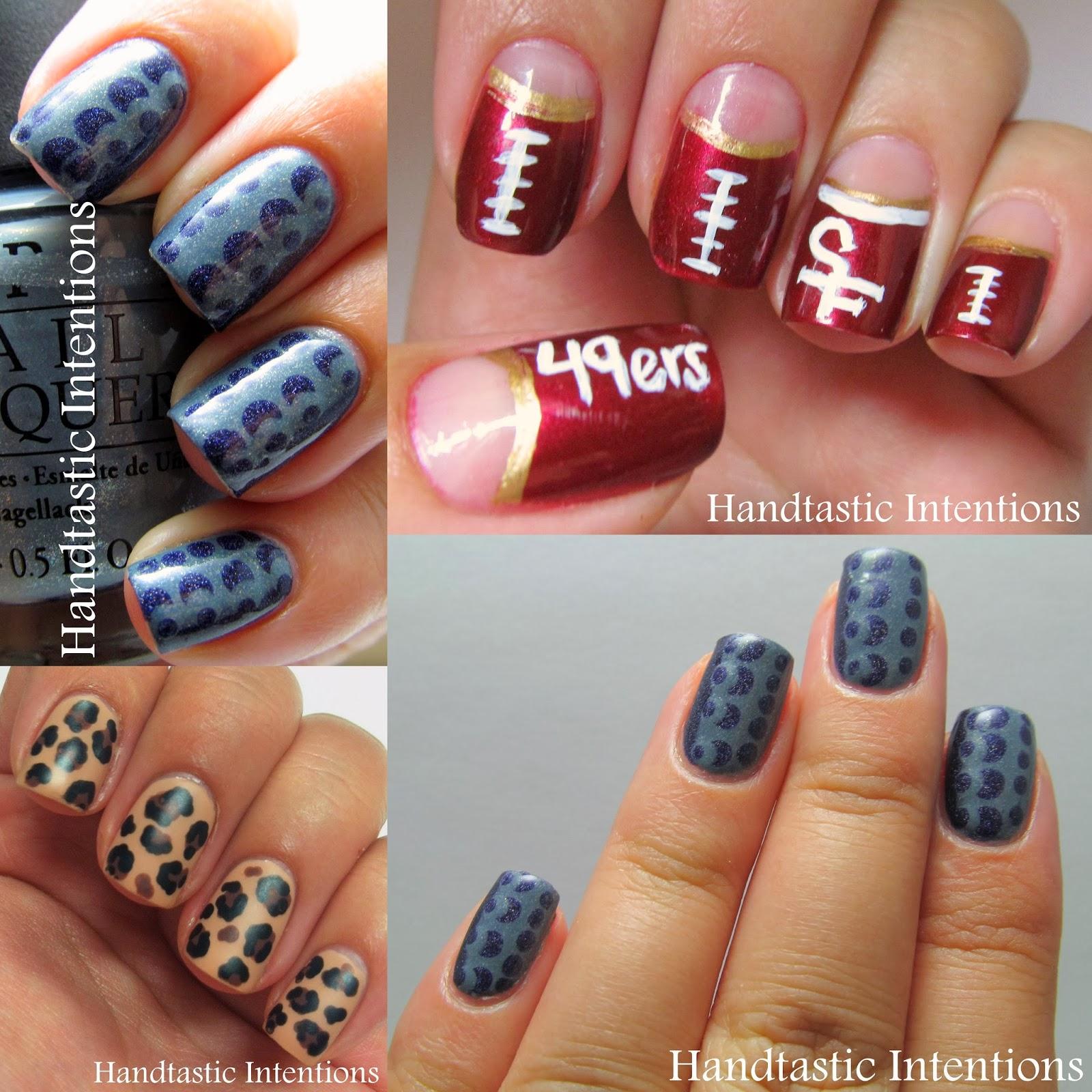 Handtastic Intentions Nail Art A Random Sampling