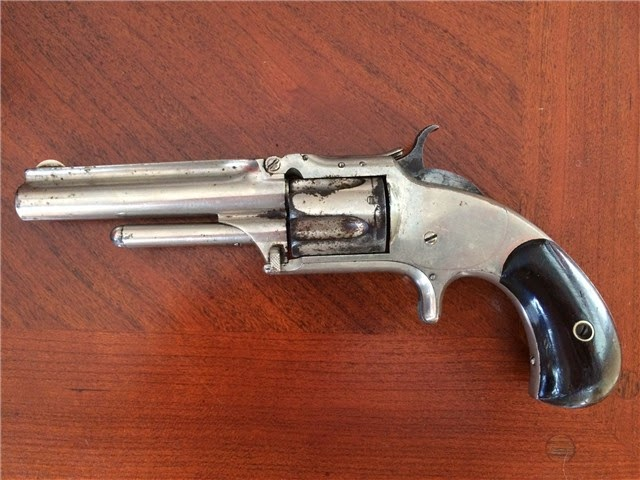 S&W Smith And Wesson Model 1 1/2 2nd edition 32 cal. Antique