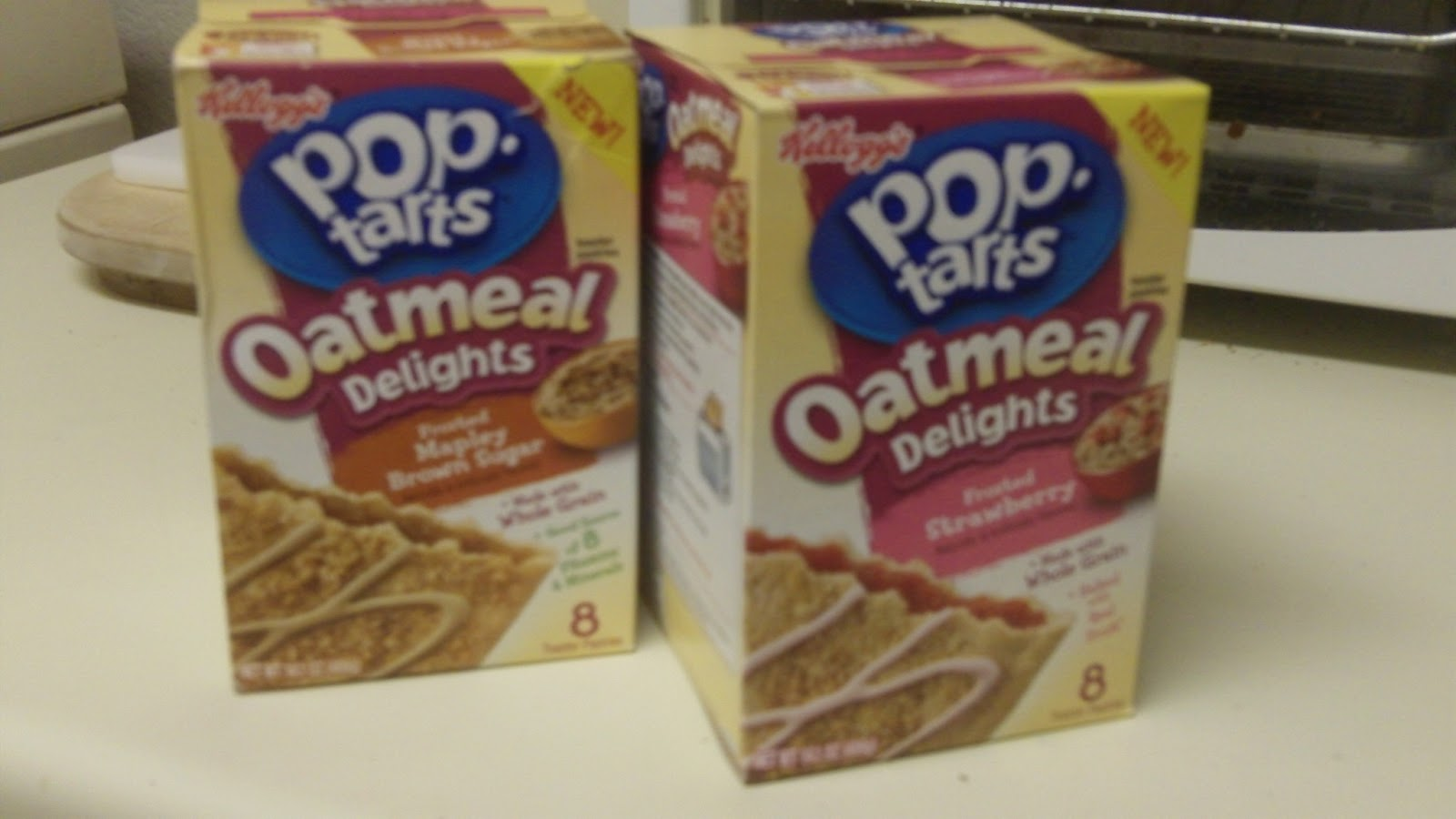 THE INTERNET IS IN AMERICA: The New Pop-Tarts Oatmeal ...