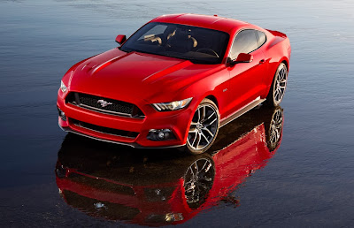 2015 Ford Mustang- launched