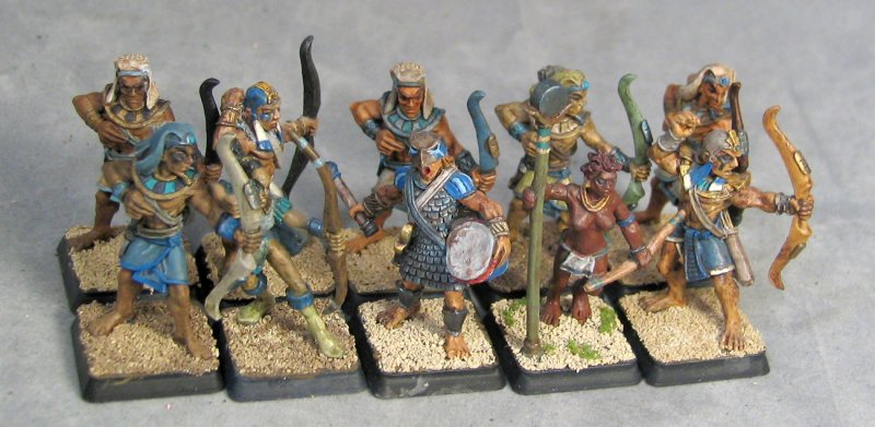 Heirakonpolis Archer Unit 10 Strong