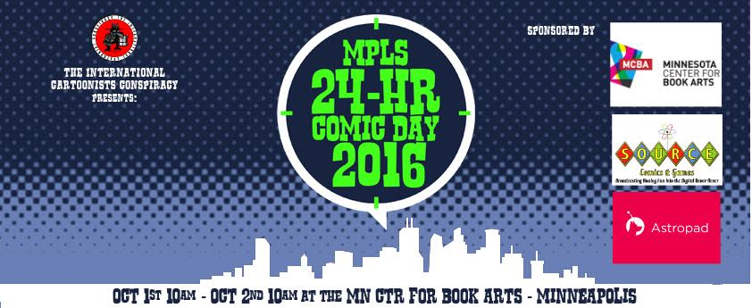 Mpls. 24-Hour Comic Day