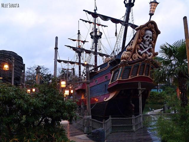 Bateau de Pirate des Caraïbes.