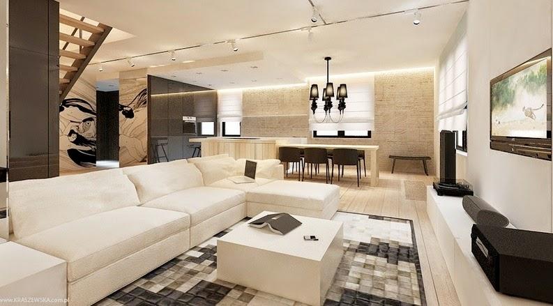 Cr er un effet noir et blanc dans la maison d cor de for Decoration maison en blanc