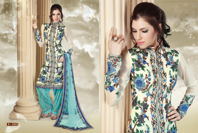 Stylish white dress wedding umbrella frocks churidar designs - Anarkali Umbrella Frock Designer Fancy Indian Net Anarkali Suits Distributor Manufacturer Of Anarkali Suits In Suratnet