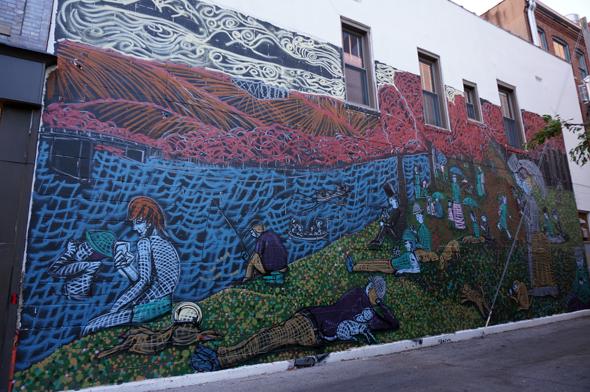 lafayette seurat mural