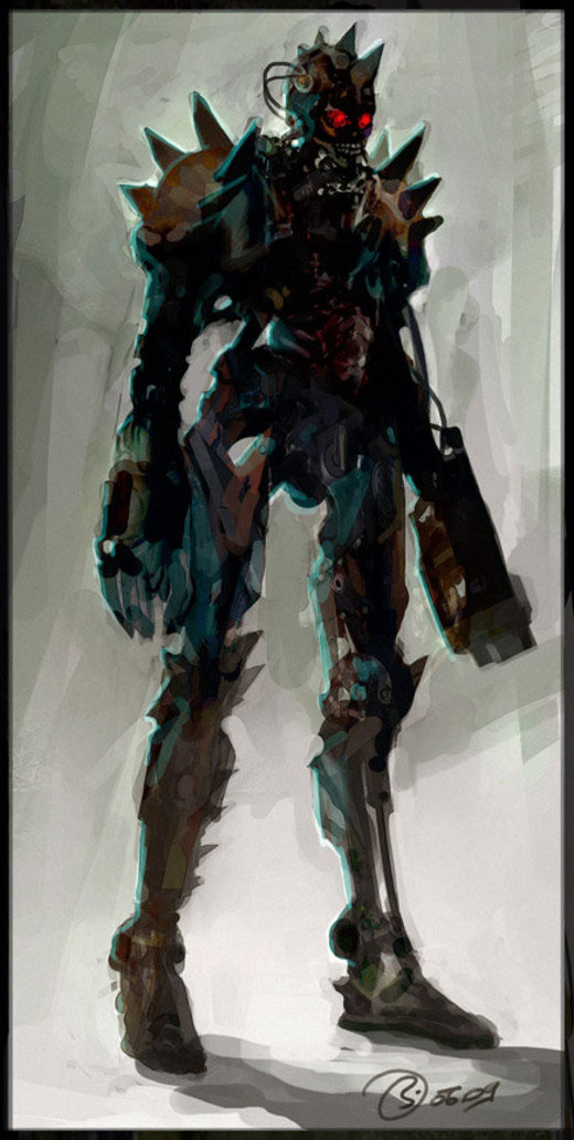 Terminator por DiegoBorellini