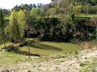 Bassa de Can Reixac situada a la capçalera del torrent del mateix nom