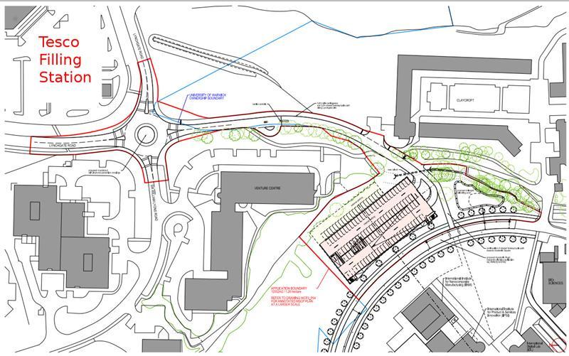 Ricoh Arena Car Park Map