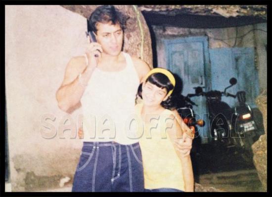 Salman Khan With Shahrukh Khan's Daughter