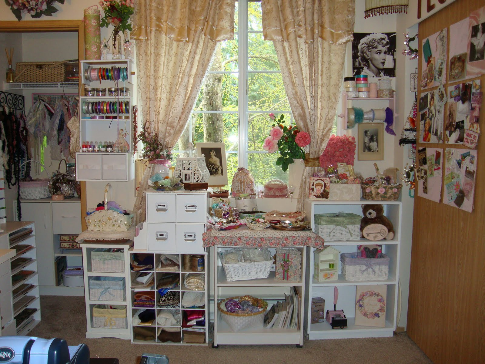 shabbychicjcouture my little piece of heaven shabby On shabby chic craft room
