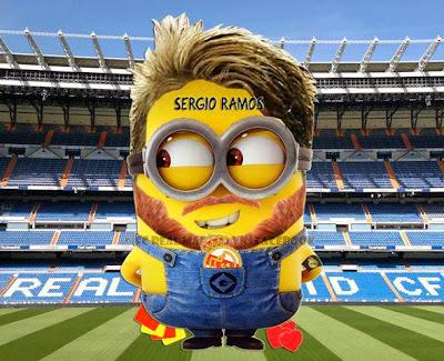 Sergio Ramos Minion - Futbol Parodia