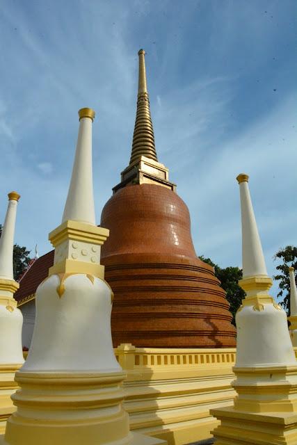 Wat Puttamongkon temple Phuket Town stupa