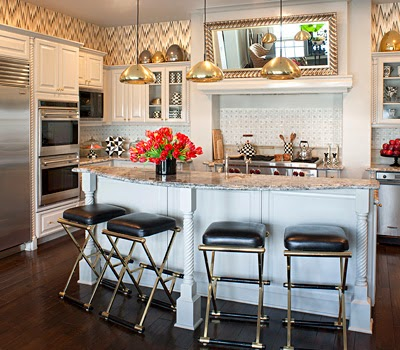 Decata designs home tour kourtney kardashian - Kourtney kardashian kitchen chairs ...