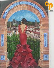 Cartel de la Feria y Fiestas de San Lorenzo de La Rambla 2015