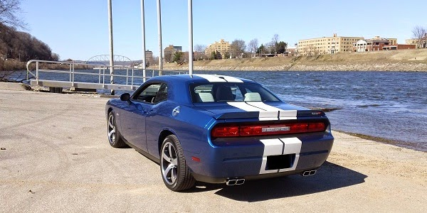 2011 Dodge Challenger Rear View