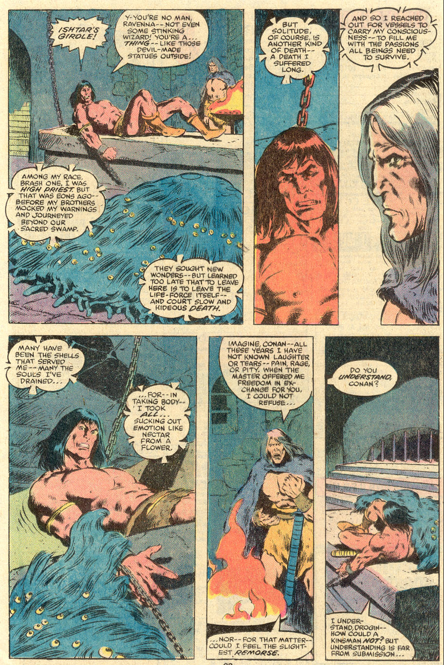Conan the Barbarian (1970) Issue #119 #131 - English 19
