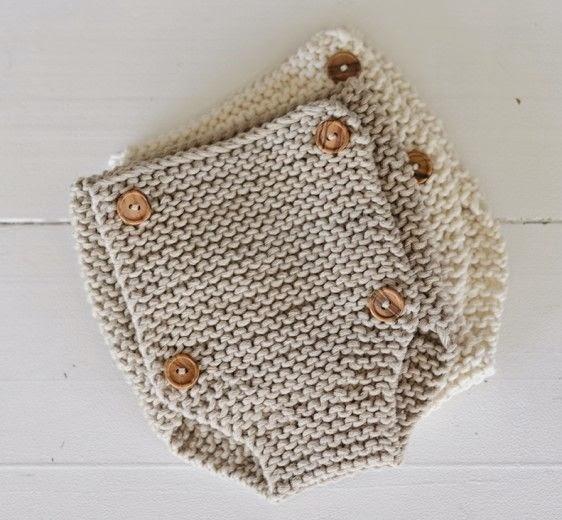 ranitas punto algodón cuatro botones