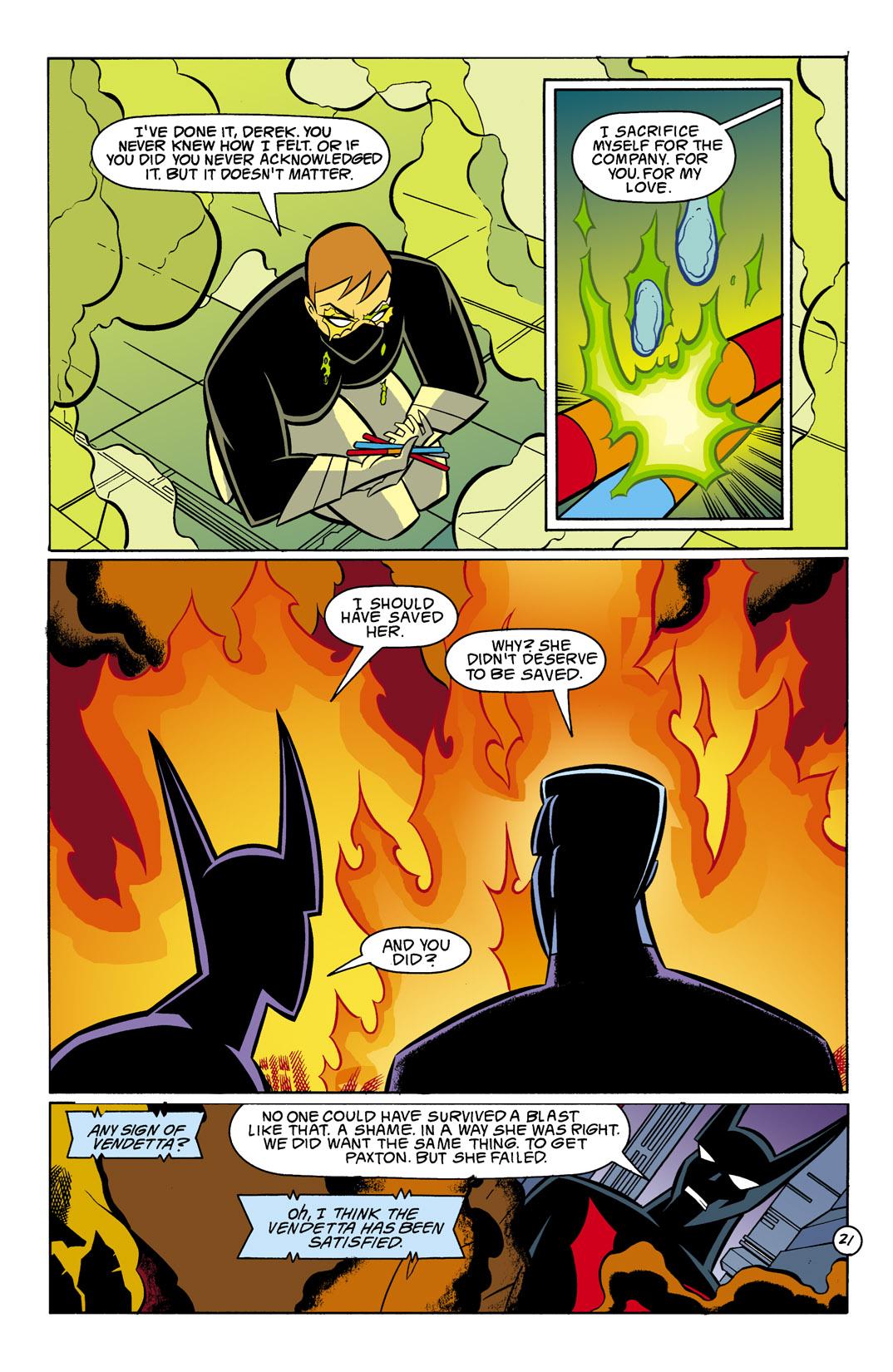 Batman Beyond [II] Issue #8 #8 - English 22