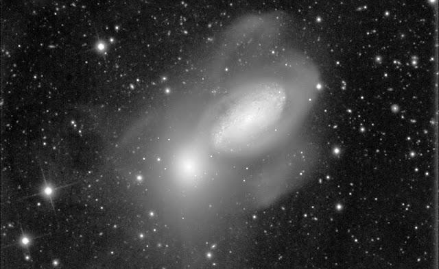 galaxias NGC 3226 y NGC 3227
