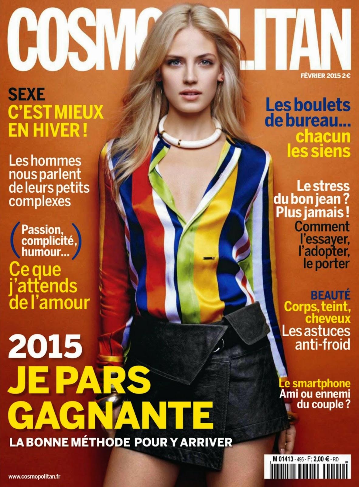 Sandra Malek, Soekie Gravenhorst for Cosmopolitan, France