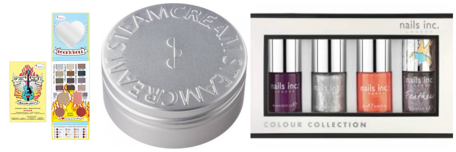 beauty offers from steamcream, the balm and nails inc