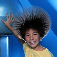 Van Der Graaf Generator bandnaam uitleg - Electro-Static Generator