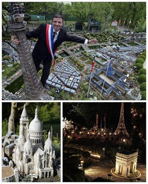 Mini-Replica Of Paris