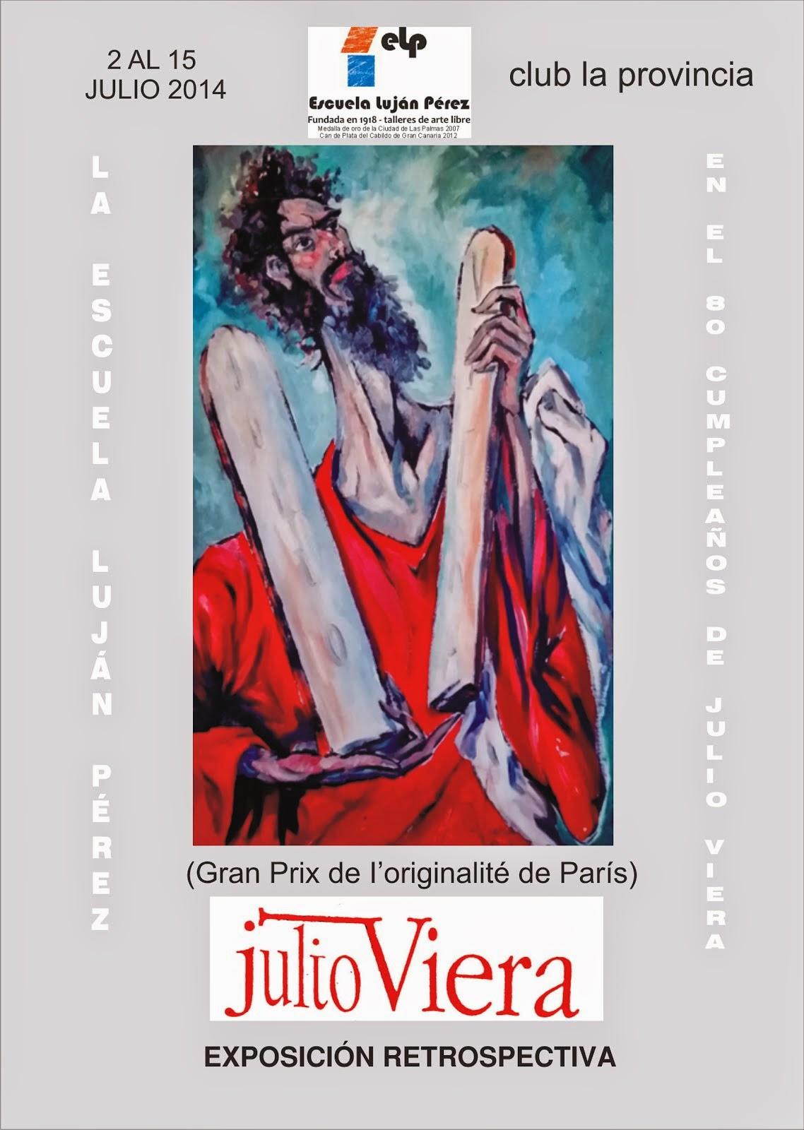 CATÁLOGO EXPOSICIÓN JULIO VIERA