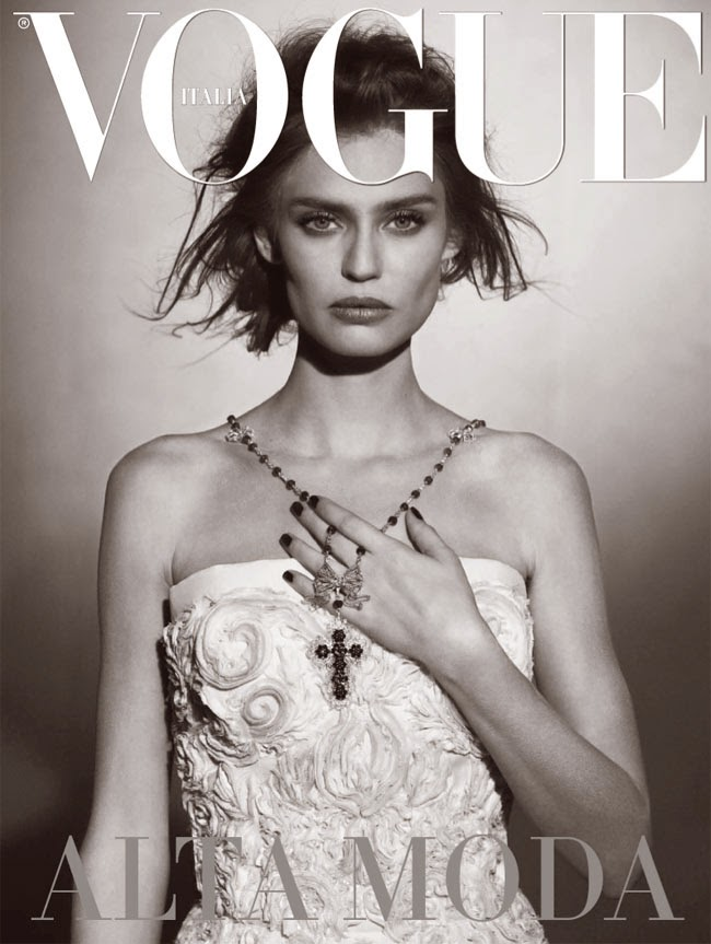 Bianca Balti by Peter Lindbergh for Vogue Unique Italia (March 2013) | Ses Rêveries