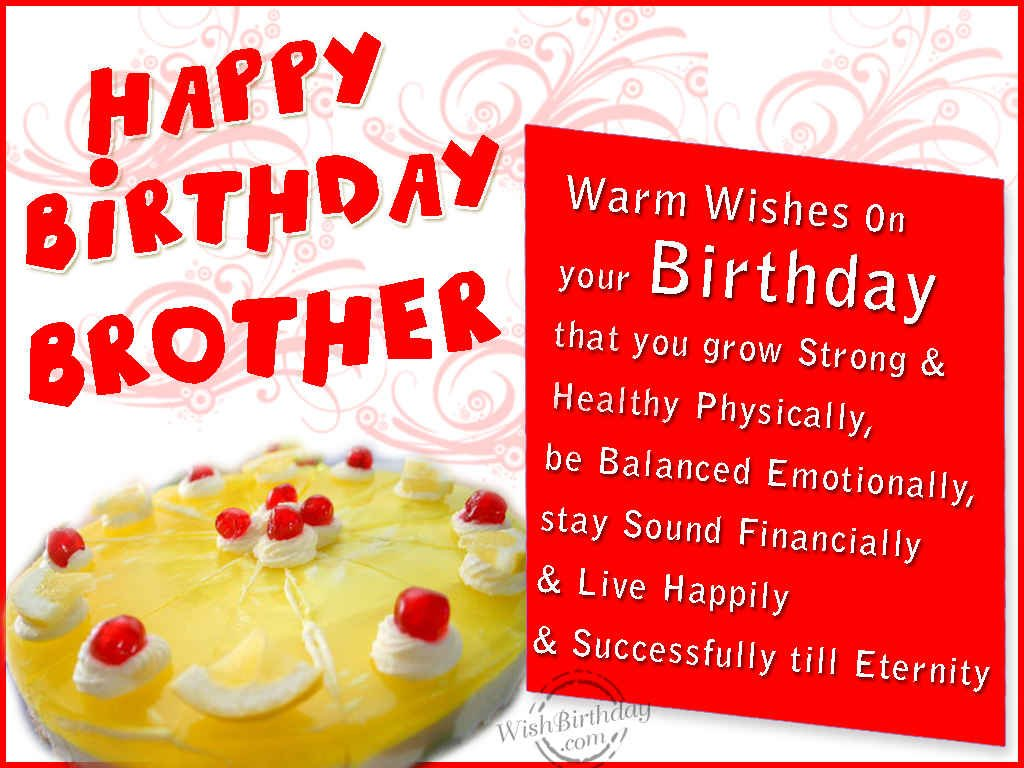 Egreeting ecards greeting cards and happy wishes happy birthday happy birthday messages for brother m4hsunfo