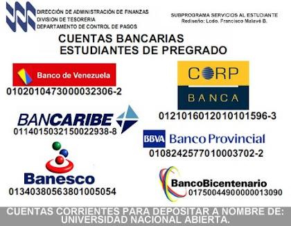 Cuentas Bancarias - Pregrado