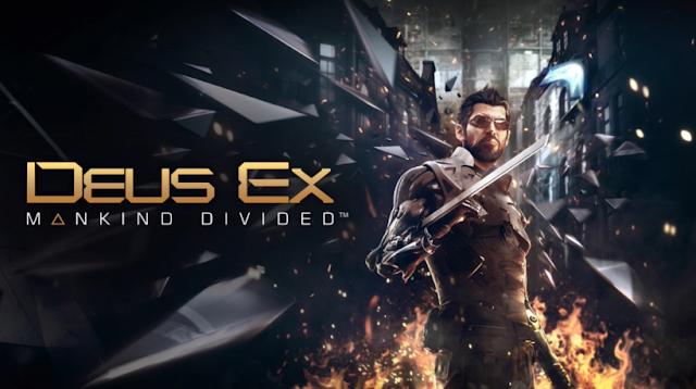 Deus Ex Mankind Divided title logo Jensen