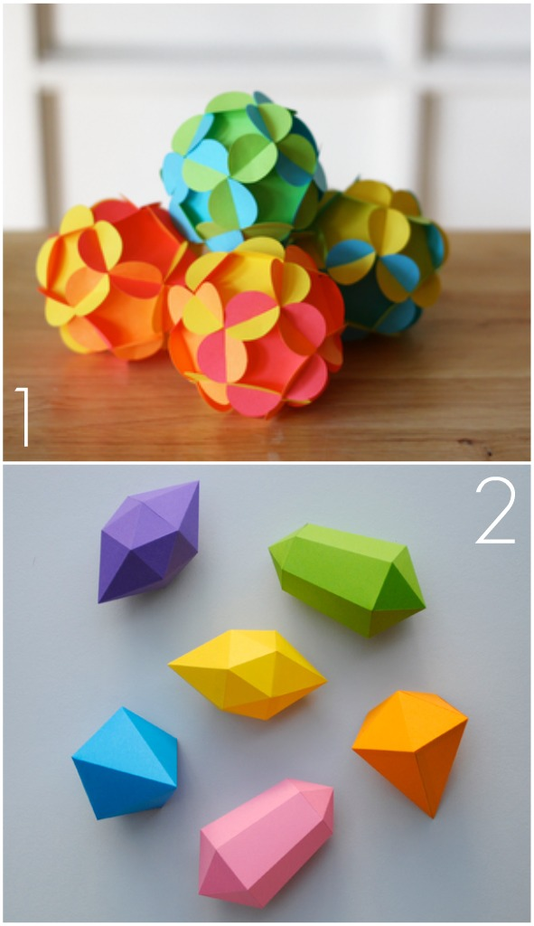 Omiyage blogs diy paper ornaments for Diy paper ornaments