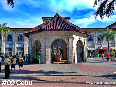 Cebu is the ninth largest island in the Philippines