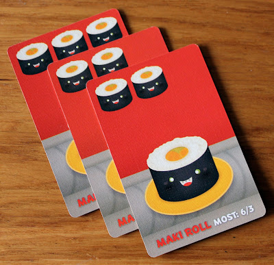 Sushi Go - maki roll cards | Random Nerdery