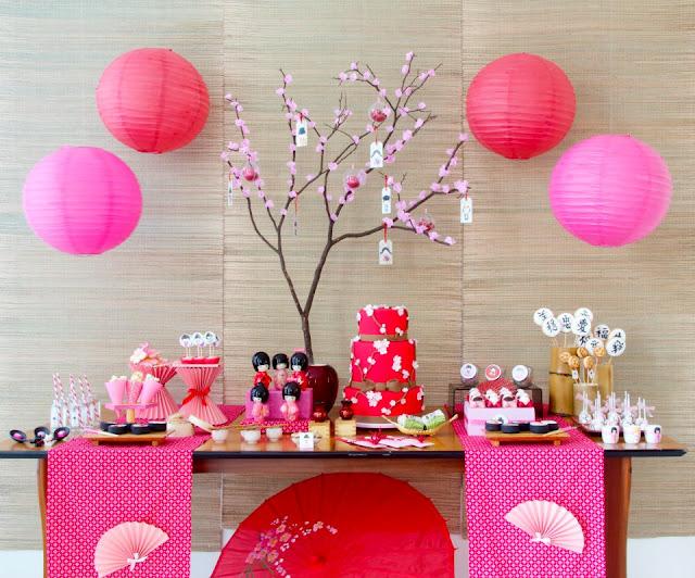 Young fashion festa de 15 anos decora o - Mesas japonesas ...