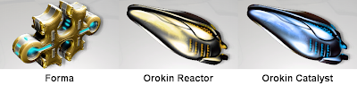 Warframe - Forma, Orokin Reactor and Orokin Catalyst