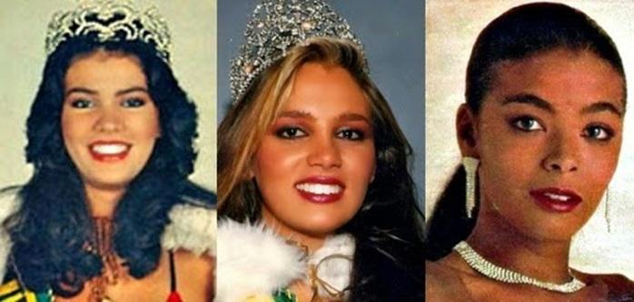 Misses Universo Brasil 1984,1985 e 1986