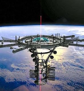 foto gambar stasiun luar angkasa