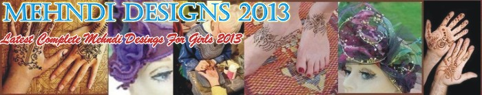 Mehndi Desings 2013