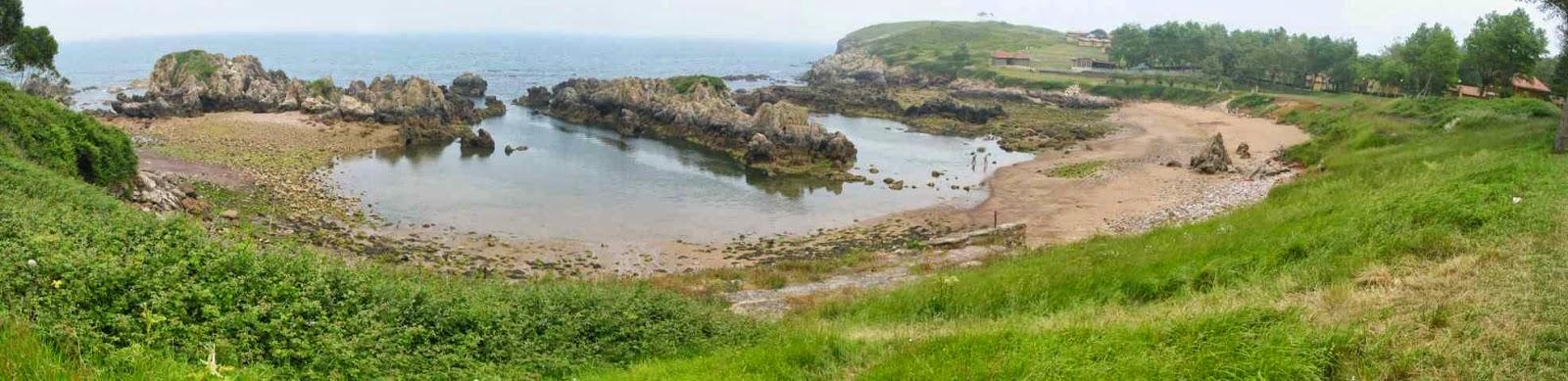 Asturias Central: Playas de Perlora, capricho pétreo del Cantábrico