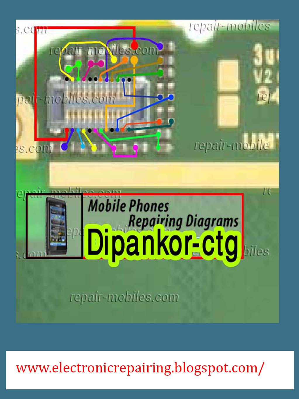 Nokia Asha 202 LCD Jumper Solution