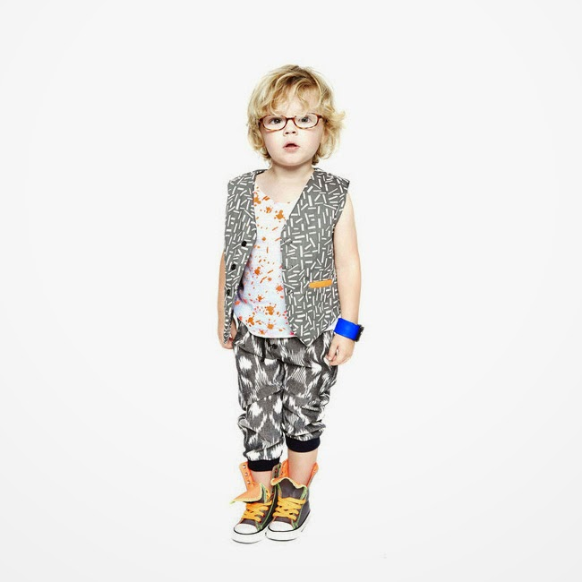Quirky style by Good Boy Friday spring/summer 2014 kids fashion collection