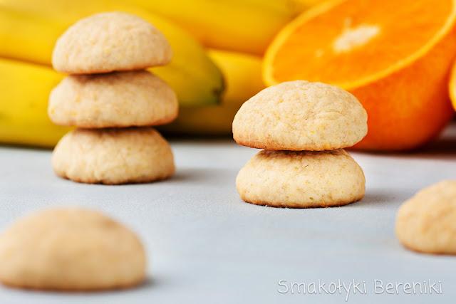 Ciasteczka miękkie bananowe