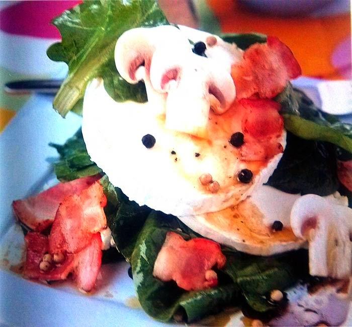 alimentación, ensalada, ensaladas, espinacas, queso, receta, sana, Vitaminas