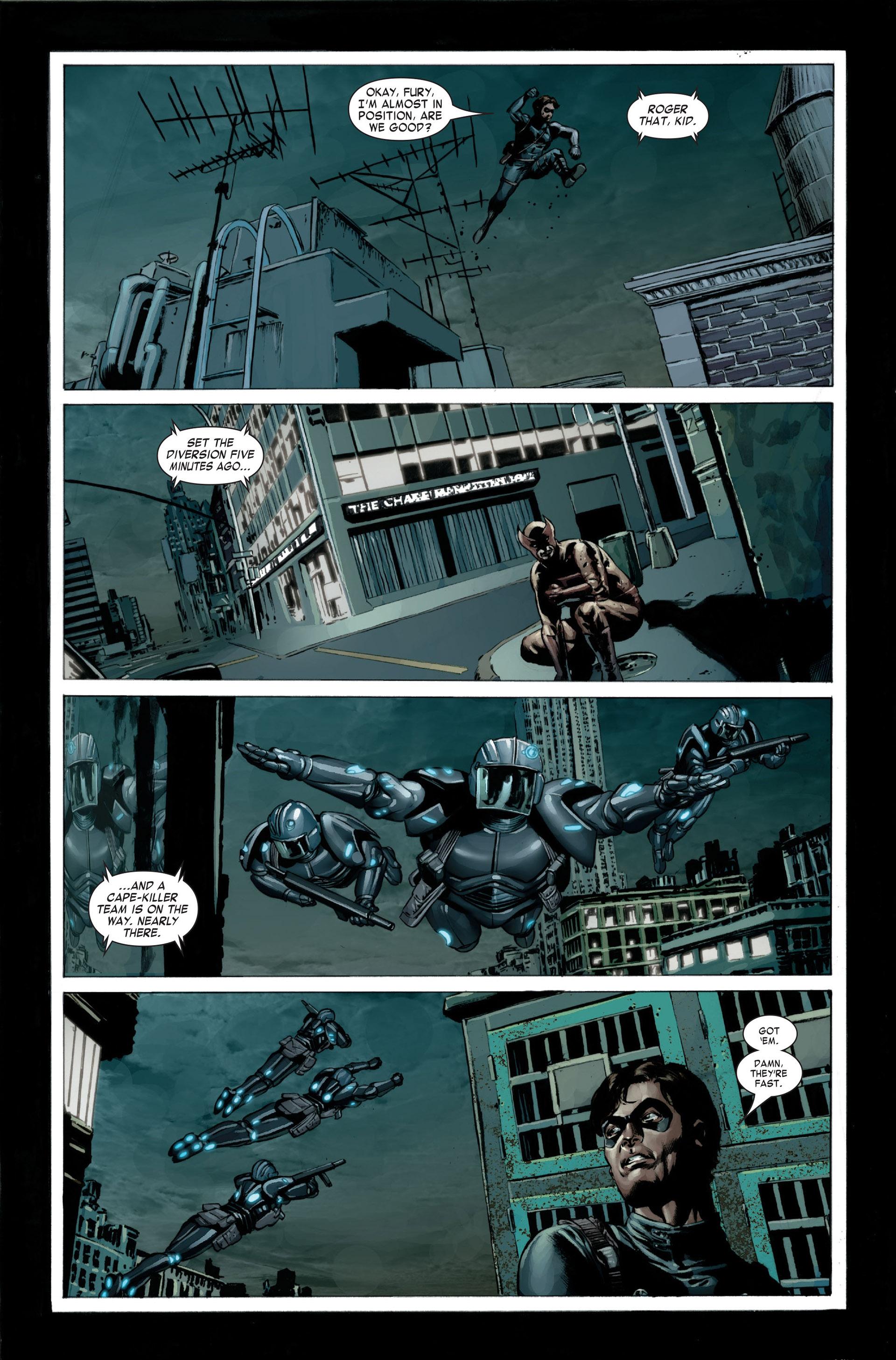 Captain America (2005) Issue #23 #23 - English 15