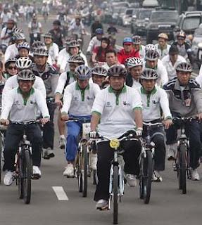 Naik Sepeda Untuk Kesehatan Badan