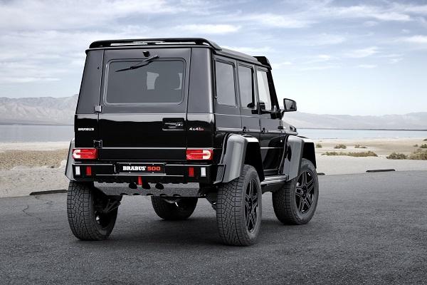 Brabus Mercedes Benz G 500 4x4²